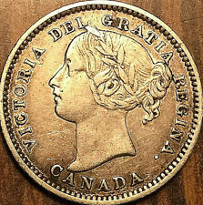 1898 CANADA SILVER 10 CENTS - Obv#6 variety - Fantastic example!
