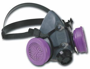 Honeywell North 5500 Series Half Face Respirator With 7580P100 Cartridge