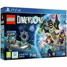 Starter Pack Lego Dimensions PS4 PlayStation 4 Video Game Mint Cond UK Release