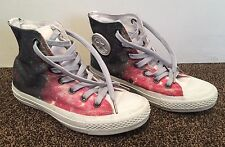 BOYS CUSTOMISED ONE OF A KIND CONVERSE ALL STAR HIGH TOPS  SIZE UK 5 EU 37.5