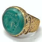 Antique Islamic Intaglio Ring - Post Medieval Ottoman Empire Style Middle East )