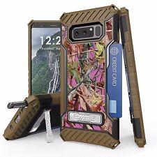 For Galaxy Note 8 Tri Shield Armor Kickstand Design Cover Case PINK TREE CAMO