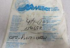 MILLER FLUID POWER Piston U-Cup Teflon P/N: 052-PS017-500