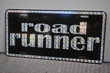 RETRO 1970'S PRISM ROAD RUNNER METAL LICENSE PLATE 70'S STREET FREAK RACER 440