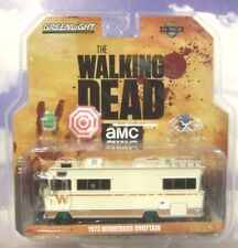 Greenlight 1/64 1973 Winnebago Chieftain Camping-Car Walking Dead Poursuite Vert