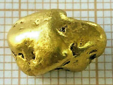 Pépite Or Naturel 3,455 Grammes Origine Napoleon Creek Alaska. Gold Nugget