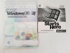 Microsoft Windows 98 OEM CD ROM