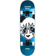 "Enjoi Skateboard Complete Kiss Berry 8.125"" Black trucks ASSEMBLED"