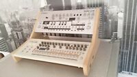 NEW MK2 MDF DUO STAND FOR ROLAND BOUTIQUE JX03 JU06 JP08 A01 TB03 TR09 TR08 SE02