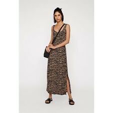 BNWT Tiger Print Maxi Dress From Warehouse Size Uk6