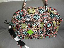 Vera Bradley Sierra Weekender Travel Bag--new--$98 retail #12479-282