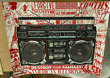 Boombox Illusions Poster - 2020 - FAILE ART PRINT - Limited