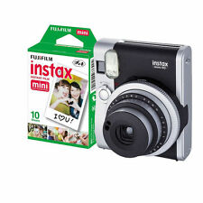 Fujifilm Fuji Instax Mini 90 Neo Classic Fotocamera Nero con 10 scatti