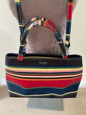 FAB KATE SPADE MULTI COLOURED CANVAS SHOULDER BAG!!