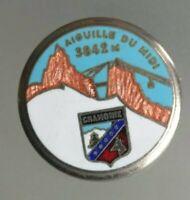 Insigne ancien Augis/ski Chamonix aiguille du midi