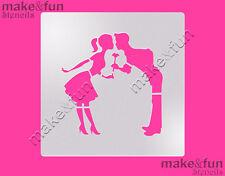 Cookie Stencil, Wedding Cookie Stencil, Cake stencil, Pochoir, Schablone