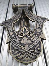 Old Solid Brass door knocker