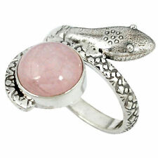 Natural Morganite Fine Rings
