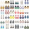 Vogue Women Geometric Acrylic Earring Dangle Drop Ear Stud Ornament Jewelry Gift