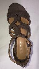 Lauren Conrad Popsicle Women Gladiator Sandals Size US 9 Natural