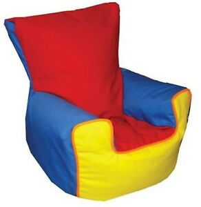 Multicolor Rainbow Bean Bag Chair, Childrens Sofa, Baby Harness Support strap