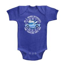 Back to the Future Dr Brown Enterprise Baby Body Suit Time Travel Infant Romper