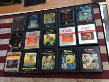 Lot Of 15 Vintage Atari Games 2600 Cartridge! Tested! See Pics!