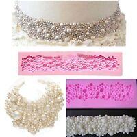 Pearls Shape Fondant Silicone Cake Decoration Mould