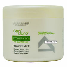 Alfaparf Semi Di Lino Reconstruction Reparative Mask 500 ml / 17.2 Oz.