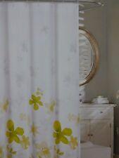 """Cynthia Rowley Floating Flowers Fabric Shower Curtain 72"""" x 72"""" NIP"""