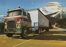 Old Print.  1978 International Transtar II Eagle Truck Ad