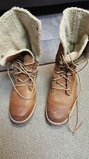 TIMBERLAND GIRLS BOOTS BROWN SIZE 6 US SNOW-WINTER (NO RETURNS)