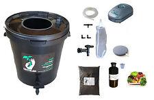 Komplett-Set 10L schwarz für Tee Kompost belüftet : Pumpe Filter tea Brewer