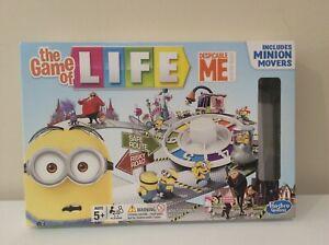 THE GAME OF LIFE DESPICABLE ME MINION BOARD GAME RARE