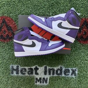 "Air Jordan 1 Retro High OG ""Court Purple 2.0"" - Size 11.5"