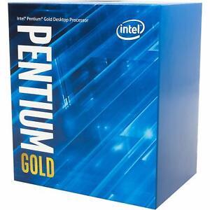 Intel Pentium Gold G5420 3.8GHz 4M Cache Dual Core Desktop CPU SR3XA LGA1151 BOX