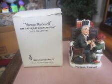VINTAGE 1979 NORMAN ROCKWELL FIGURINE DOCTOR AND THE DOLL DAVE GROSSMAN DESIGNS
