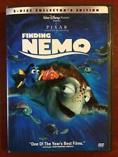New listing Finding Nemo (Dvd, 2003, 2-Disc, Disney Pixar) - F0317