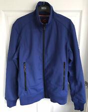 Men's Blue Karrimor K100 Zip Up Soft  Shell Jacket - Size Medium