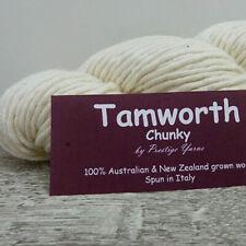 Prestige Yarns TAMWORTH (undyed) 14ply/Super Chunky 100g/90m100% AU & NZ Merino