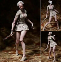 Silent Hill 2 Bubble Head Nurse PVC Action Figure Faceless Nurse Toy Gift