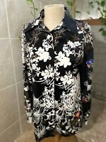 Authentic Collectors Items Of Leonard Sunshine Vintage Women's Shirt Size 14