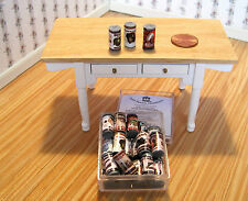 Dollhouse Miniature ~ 24 Grocery/Food Tins ~ General/Country Store ~ RD~ Vintage