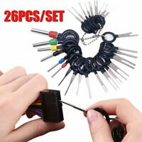 26Pcs Car Terminal Removal Tool Wire Plug Connector Extractor Puller Release