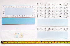 NEW Stationery Letter Set Puppy Dog Theme 6 Sheets + 2 Envelopes + Stickers