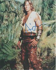 KEVIN SORBO Hand Signed 8 x 10 HERCULES Photo Autograph w/ COA Nice Pic & AUTO
