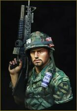 1/10 BUST Resin Figure Model Kit Vietnam War US Soldier Unpainted Unassambled