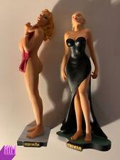 2008 Milo Manara Figures Comic Resin Statue Sylvia + Marion