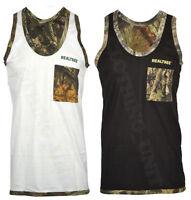 Mens Jungle Print Camouflage Army Combat Vest Fishing Hunting M-XXL