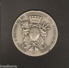 MEDAILLE COMMEMORATIVE EN ARGENT CAISSE D'EPARGNE DES BOUCHES DU RHONE 1952
